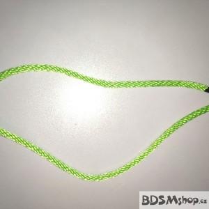 Provaz zelený 6 mm