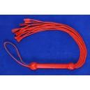 Pletene dutky - cervene